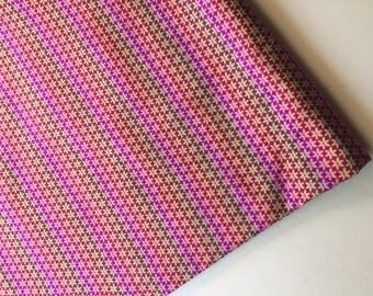 Carla Miller for Rowan Fabrics Star Flower Fabric CM 33 OOP,