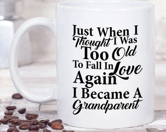Grandparents Day Coffee Mug - Grandparent Gifts - Ceramic Mug - Grandparent Coffee Mug - Coffee Cup - Coffee Lover Gift