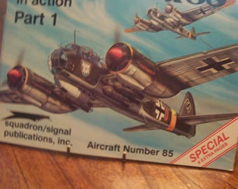 Junkers Ju 88 In Action Part 1 By Brian Filley 1988 SB