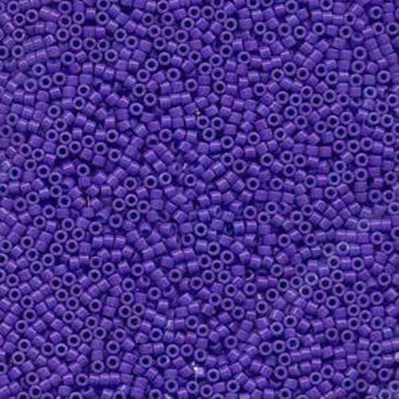 5g DB661 Miyuki Delica Bead Dyed Opaque Purple