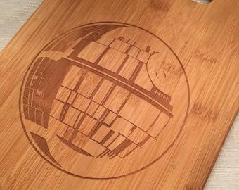 Death Star Bamboo Cutting Board-Medium
