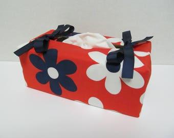 Tissue Box Cover/Big Flower