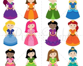 BACK TO SCHOOL Sale Princess SVGs, Princess Cutting Templates - Commercial and Personal Use