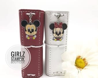 Disney inspired Mickey and Minnie Mouse Planner Charms