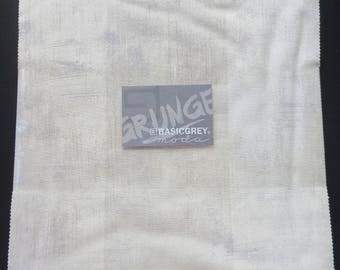 17.99 Per Layer Cake - Basic Grey For Moda - Grunge Junior Layer Cake Creme  -  30150JLC - 270