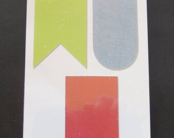 Decorative Pennants 660442 - Sizzix Originals Dies 3/Pkg By Echo Park