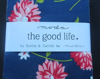 More In Stock - Available Now!The Good Life Layer Cake - 2 Remaining! - Bonnie and Camille For Moda - This is NOT a pre order In Stock Now!