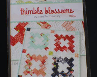 Mini Vintage - Mini Quilt Pattern - Thimble Blossoms - Bonnie And Camille Pattern 214
