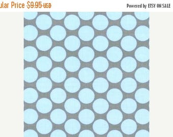 SALE 10% Off - FULL MOON Dot in Slate - Amy Butler fabric - Lotus - By the Yard