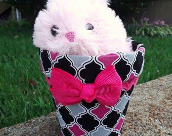 Bunny Pot,Valentine's present, gift for a gardener, baby shower gift, gift uder 10 dollars, flower pot, mother's day gift, easter gift