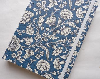 A5, MeDiary, Diary, weekly, planner, 2017, 2018, journal, notebook, Coptic, Rossi paper, florentine, flowers, blue green, fruit, book