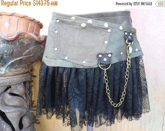 """20%OFF bohemian tribal gypsy soft black leather belt..34"""" to 42"""" waist or hips.."""