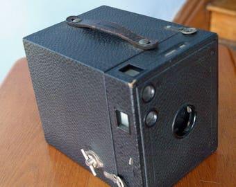 No. 3 Brownie Camera Model B by Eastman Kodak Company - Uses 118 Roll Film