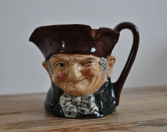 Vintage Royal Doulton Old Charley D5420 - Character - Toby jug - Large size