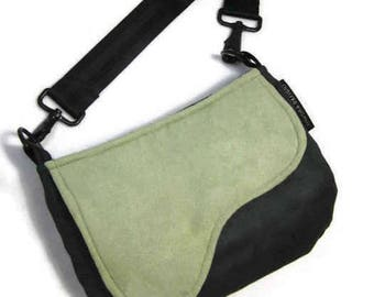 Saddle Bag, Shoulder Purse, Olive Green Shoulder Bag, Equestrian Bag, Olive Green,  Army Green, Pantone 2017, RTS