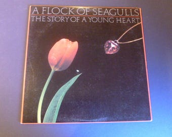 On Sale! A Flock Of Seagulls The Story Of A Young Heart Vinyl Record LP JL8-8250 Jive/Arista Records 1984