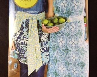 Amy Butler Domestic Goddess Aprons-3 styles Pattern