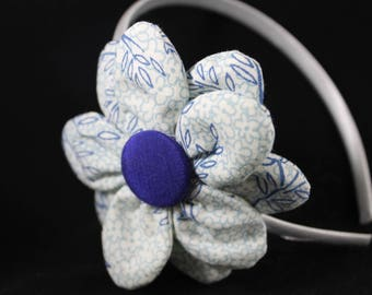 Hair Bows for Girls - Headbands, flowers, pink, blue