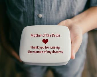 Mother of the Bride Gift from Groom   Mother of the Groom   Keepsake Box   Personalized Mom Gifts from my Charleston, SC Studio