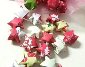 LAST SET SALE 112 Smitten Mitten Origami Stars