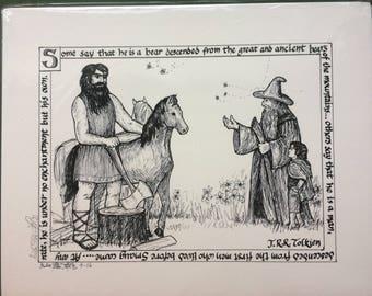 Beorn's Hospitality print (11x14)