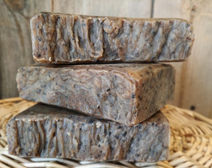 Cup of Joe Kitchen Soap --Natural Coffee Soap, Handmade, Man-friendly, Organic Sustainable Palm, Coffee Soap, Best Seller, Free Shipping