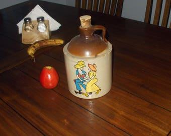 Vintage jug ((((((((macomb pottery co)))))))