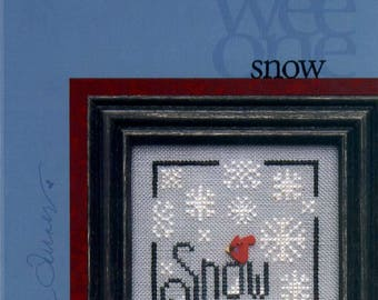 Heart in Hand: Snow - a Wee One Cross Stitch Pattern