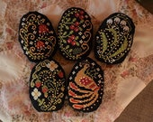 INSTANT DOWNLOAD Russian Folk Art Easter Eggs PDF counted cross stitch patterns by Punochka holidays