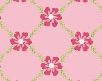 Riley Blake Fabric, Sweet Divinity by The Quilted Fish for Riley Blake Fabrics, C6103 Sweet Vine in Pink