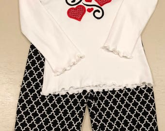 Heart Swirls Outfit