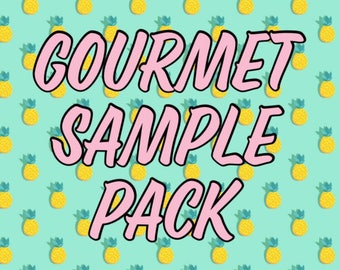 TRY ME - SAMPLE Size pack of gourmet dog treats - Pick from Peanut Butter or Wheat Free Apple - Try Before You Buy - Sample -