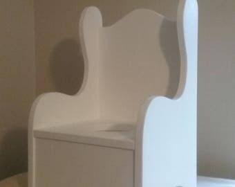 ZERO VOC painted Wooden Potty Chair