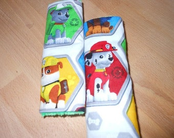 Paw Patrol Rescue Infant/Toddler Reversible Car Seat Strap Covers (choice of minky)