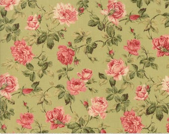Roses & Chocolate II,  Sage 33274 13, a Moda Classic