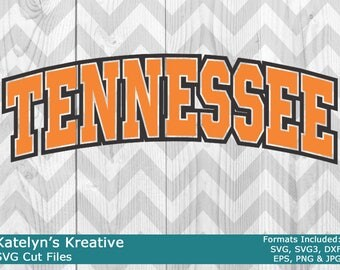 Tennessee Arched SVG Files