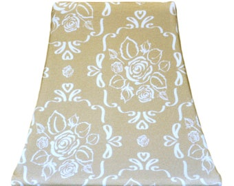 Stencil Rose - SLIP COVERS for lampshades