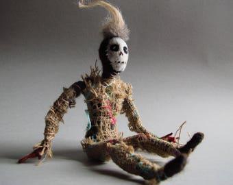 Punk Zombie Dead Doll