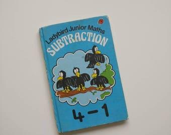 Ladybird Book Subtraction Notebook handmade notebook Thank You Teacher Maths