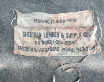Sterling 12 Star Paint Apron