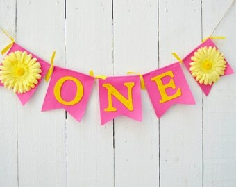 You are my sunshine Birthday - girl birthday banner - 1st birthday party - birthday banner - you are my sunshine party - girl birthday party