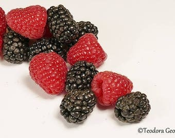 Berries Photography, Fruit Photography, Food Photography, Kitchen Photography, Farmers Market Photography
