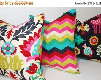 FALL is COMING SALE Waverly Trio Santa Maria Desert Flower Panama Wave Mexicali Pillow Covers Decorative Pillow Choose Size