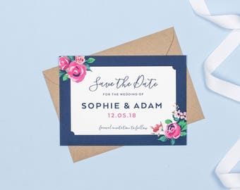 Adela Wedding Save The Date cards