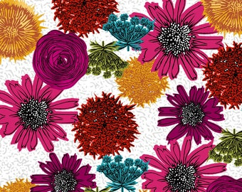 Makers Home cotton fabric by Natalie Barnes of Beyond the reef for Windham Fabrics 43147 1