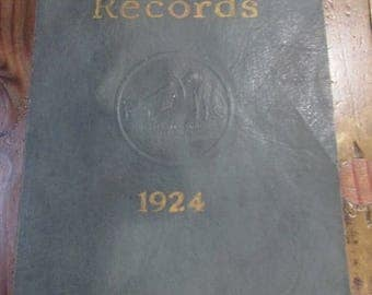 Victor Records 1924 Catalog  Victor Talking Machine Co