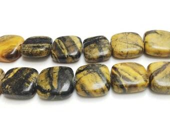 23 HOWLITE Beads - 15x15x4mm - COD5197