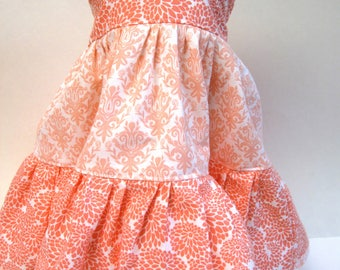 Pink Twirly Dress for your 18 Inch Doll