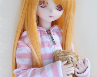 Dollfie Dream DD SD 1/3 Straight/5 color- wig 23cm - In Stock
