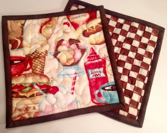 Pot Holders/Hot Pads -- For the Chef
